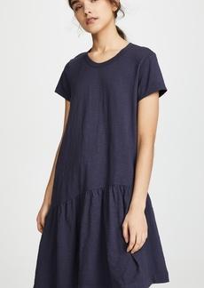 Wilt Slant Hem T Shirt Dress
