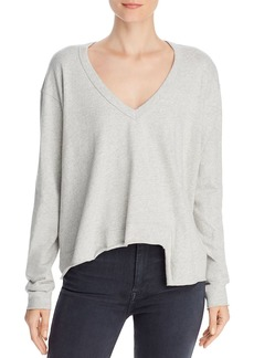 Wilt V-Neck Asymmetric Sweatshirt
