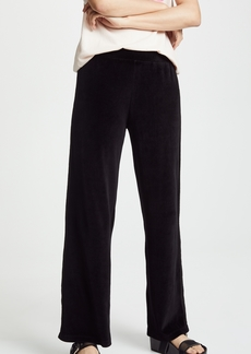 Wilt Velour Wide Leg Tuxedo Pants