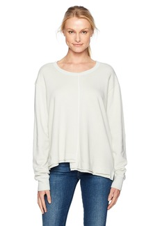 Wilt Women's Big Sweatshirt Shifted Seamed  XS