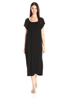 Wilt Women's Long Slim Clean Peasant Dress