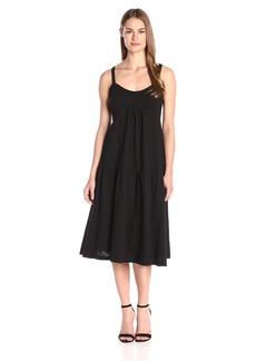 Wilt Women's Midcalf Tiered Slip Dress