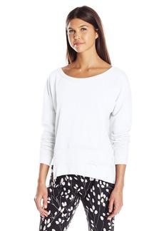 Wilt Women's One Shoulder Easy Shifted Sweatshirt  XS