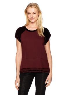 Wilt Women's Peplum Sweatshirt Mixed  S