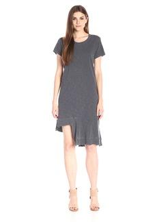 Wilt Women's Rib Mix Uneven Hem T Dress