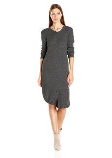 Wilt Women's Shifted Shirt Dress Elbow Sleeve