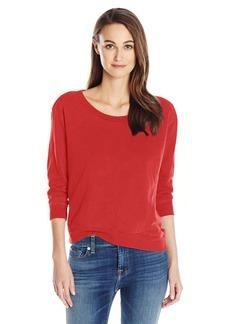 Wilt Women's Shrunken Crop Sweatshirt Foundation