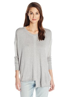 Wilt Women's Slouchy Shifted Tie Back Sweater  S