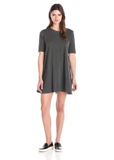 Wilt Women's Trapeze T Dress DISTRESS BLACK S