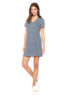 Wilt Women's v-Neck Trapeze T-Shirt Dress s/s
