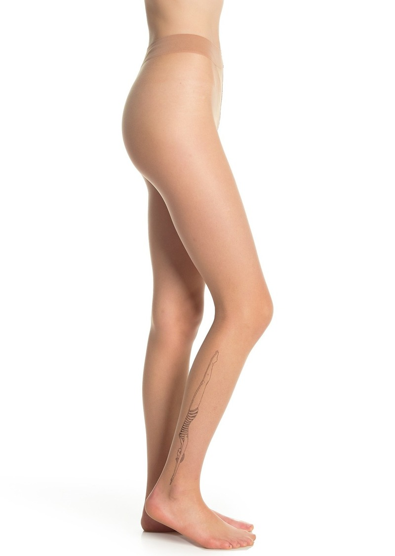 Wolford Anna Ink Diver Print Tights