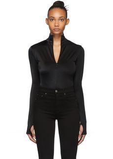 Wolford Black Shimmering Glass String Bodysuit