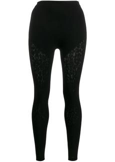 Wolford Cheetah net leggings