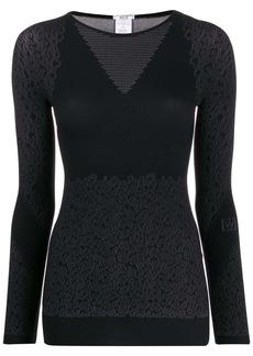 Wolford Cheetah-print sweater