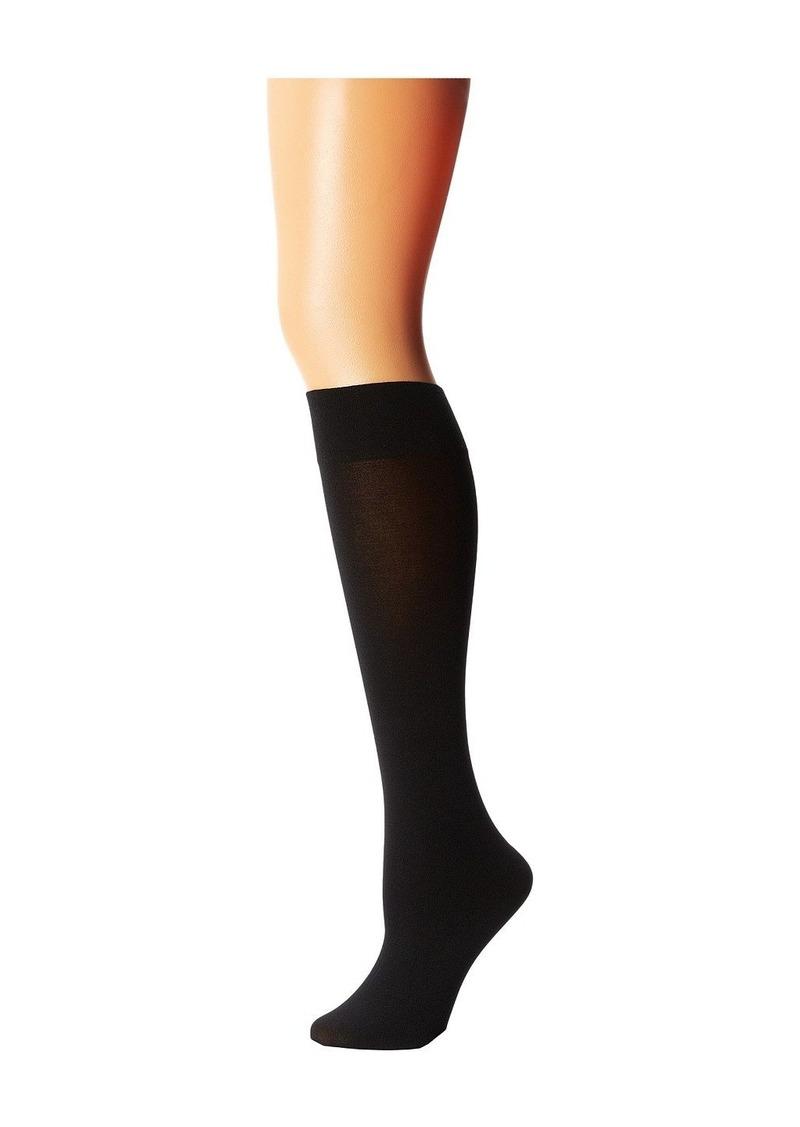 8febc65204f Wolford Cotton Velvet Knee-Highs
