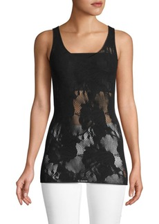 Wolford Floral Wool-Blend Lace Top