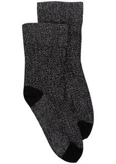 Wolford metallic-effect NYX socks