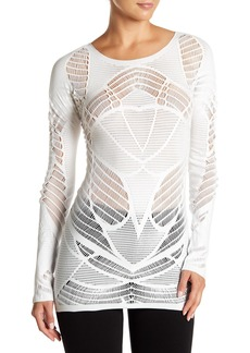 Wolford Net Lace Pullover