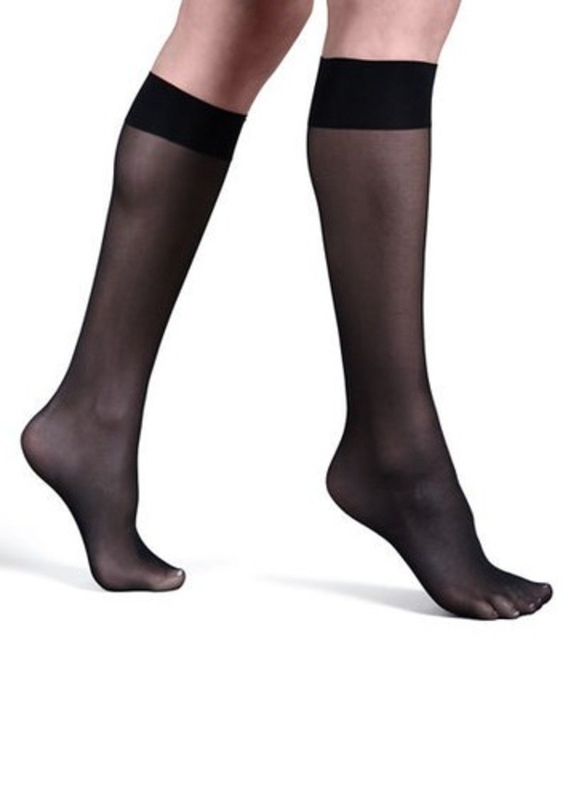 ec3400d9d Wolford Satin Touch Knee-Highs
