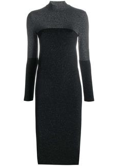 Wolford Selene two-tone glitter dress