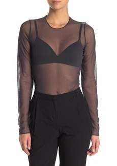 Wolford Sheer Tulle Pullover Shirt