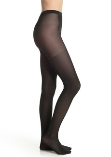 Wolford Silver Dust Stripe Tights