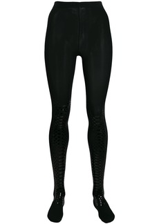 Wolford snake shimmer tights