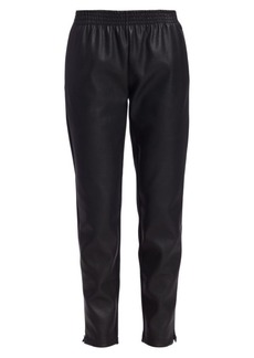 Wolford Stella Vegan Leather Track Pants