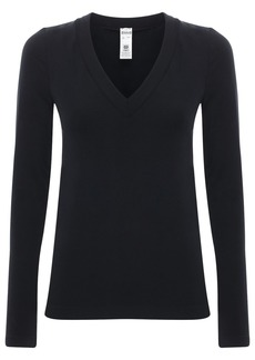 Wolford Sustainable Aurora Modal V Neck Top