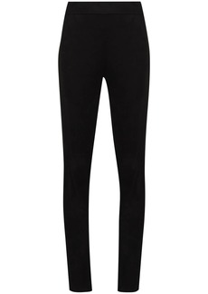 Wolford velour fitted leggings