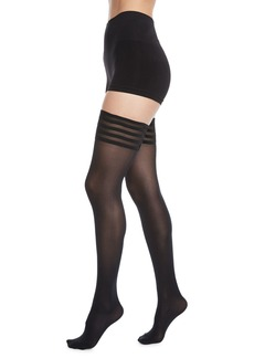 Wolford Velvet De Luxe Stay-Up Thigh Highs Stockings