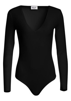 Wolford Wildlife V-Neck Bodysuit
