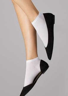 Wolford + Cotton Sneaker Socks