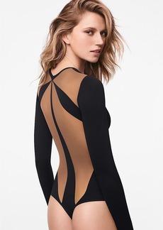 Wolford + Icon String Thong Bodysuit