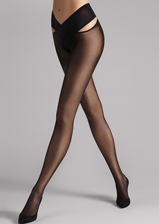Wolford + Individual 12 Denier Stay-Hip Pantyhose