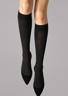 Wolford + Merino Knee Highs