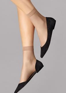 Wolford + Nude 8 Denier Socks
