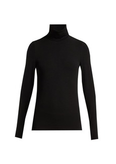 Wolford Aurora roll-neck jersey top