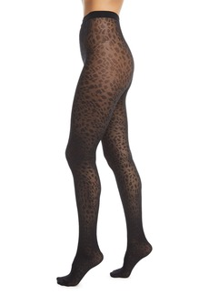 Wolford Avril Leopard-Print Tights