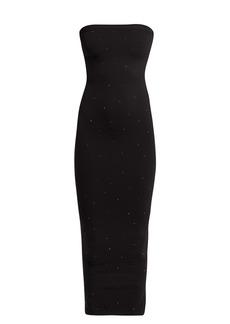 Wolford Crystal Blaze embellished jersey dress