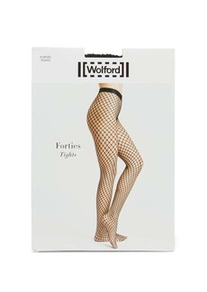 Wolford Forties fishnet tights