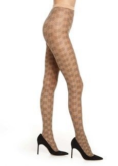 Wolford Granular Poisen Net Tights