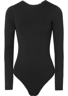 Wolford Icon String tulle-paneled bodysuit