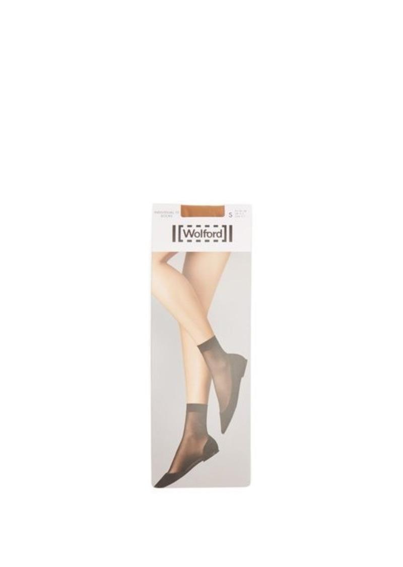 Wolford Individual 10 ankle socks