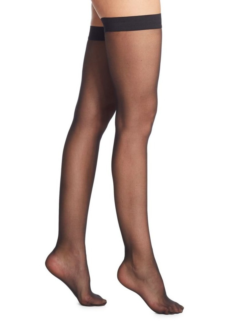 95954f8a6 Wolford Individual 10 Sheer Thigh Highs