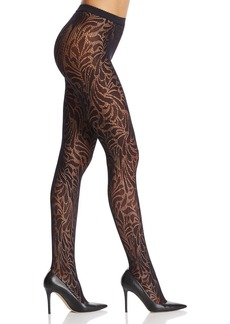Wolford Iris Floral Net Tights