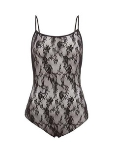 Wolford Katharina floral-lace thong bodysuit