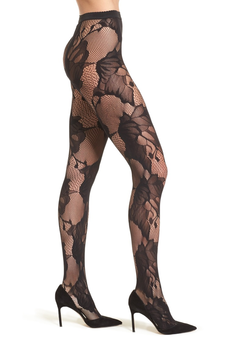 dedbe63b6 Wolford Wolford Pat Floral Lace Tights