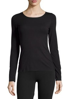 Wolford Pure Long-Sleeve Pullover Top