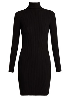 Wolford Rib-knitted high-neck dress